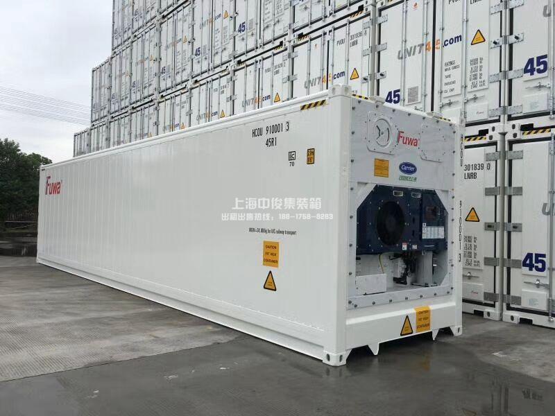 全新冷冻集装箱